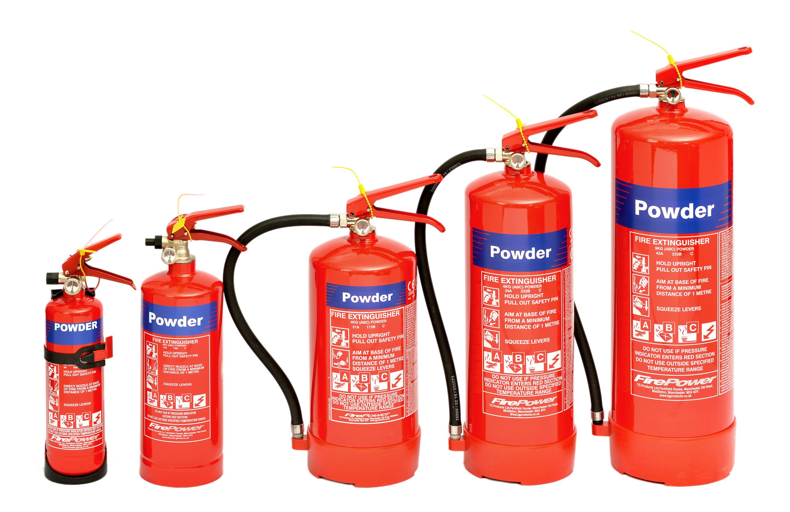 Dry Chemical Fire Extinguisher Newcastle